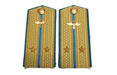 Погоны 1943 г. Летчик ВВС РККА. Средний командный состав. Детские.