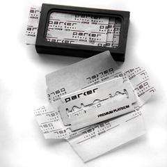 Сменные лезвия PARKER premium platinum 5шт.