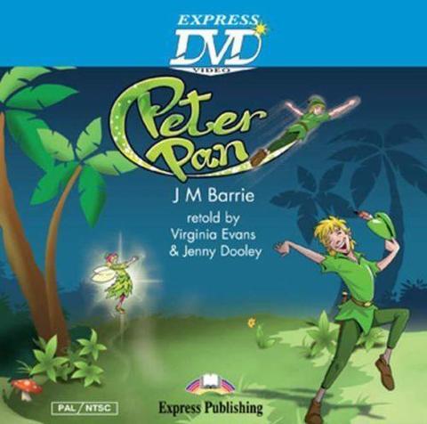 Peter Pan. DVD Video PAL/NTSC. DVD видео.