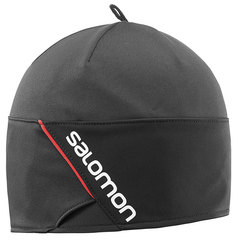 Шапка Salomon Rs Beanie Black/Black/Matador