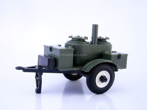 Trailer KP-2-48 field kitchen military (khaki) Agat Mossar Tantal 1:43