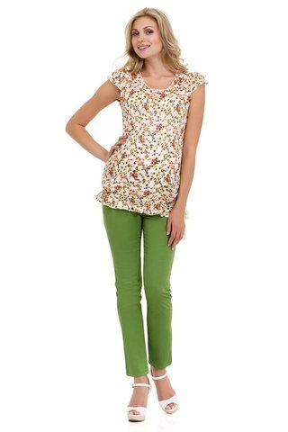 Блузка для беременных 05373 разноцветный