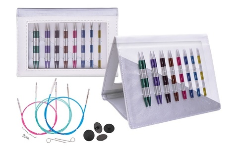 KnitPro Набор съемных спиц SmartStix Deluxe Set Normal IC 42140