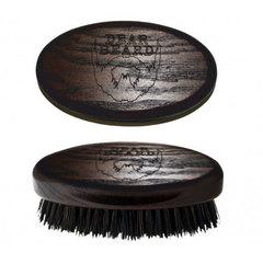 Dear Beard Mini Brush - Щетка для усов и бороды из древесины венге 8*4 см