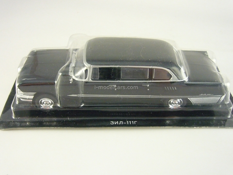 ZIL-111G black 1:43 DeAgostini Auto Legends USSR #29