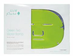 """Набор восстанавливающих масок для лица """"Зеленый Чай"""", 100% Pure"""