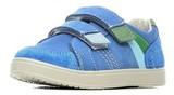 Полуботинки на липучках для мальчиков Котофей 432129-21, цвет голубой. Изображение 2 из 7.