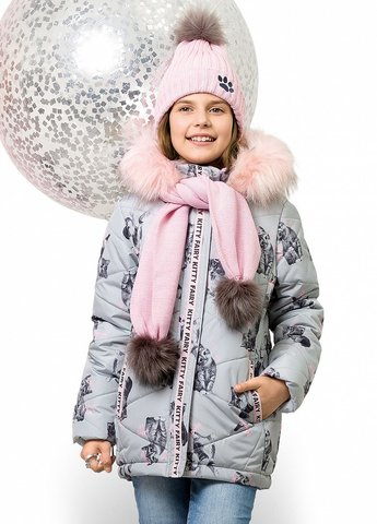 Pelican GZWL3077 Куртка для девочек зимняя