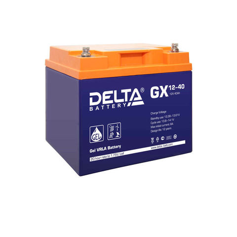 Гелевые аккумуляторы Delta GX