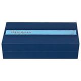 Перьевая ручка Waterman Exception Slim Black ST перо золото 18Ct F (S0637010)