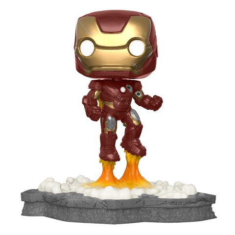 Фигурка Funko POP! Deluxe: Marvel: Avengers: Iron Man (Assemble) (Exc) 45610