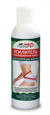 Усилитель скипидарных ванн Для коррекции фигуры 150 мл ТМ Натурмед НИИ Натуротерапии