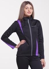 Женская тёплая лыжная куртка Nordski Active Black-Violet