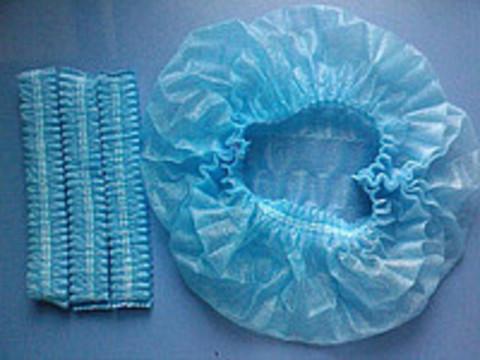 Шапочки одноразовые Одуванчик голубые (100 шт.)