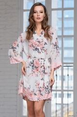 Короткий женский халат  MIA-AMORE  DANIELLA Даниэлла 8213