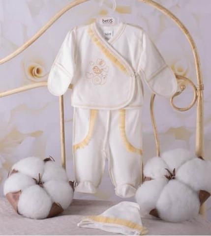 Костюмчик для малышей Равлик золото