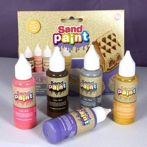 Краски для kinetic sand DECO