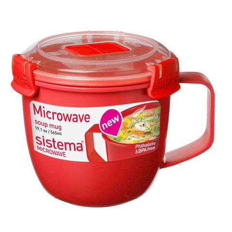 Кружка суповая Microwave, 565  мл