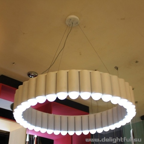 replica Lee Broom The Carousel Pendant Light ( white )