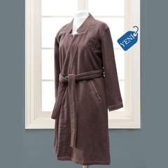 ELIZA KIMONO фиолетовый махровый женский халат Soft Cotton (Турция)