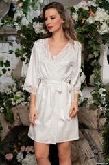 Короткий женский халат  MIA-AMORE  BEATRICE БЕАТРИЧЕ 2193