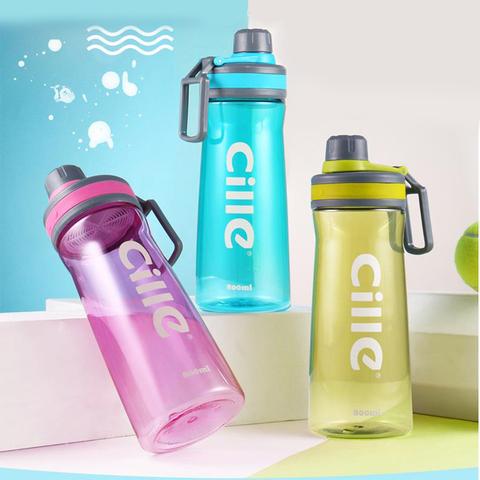 Бутылка для воды, спортивная, 0.8 л.