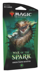 Тематический бустер выпуска «War Of Spark»: Green (английский)