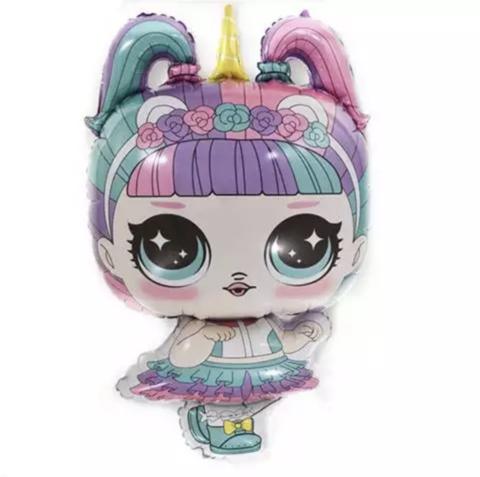 Фольгированная фигура Кукла Хрустальная Королева