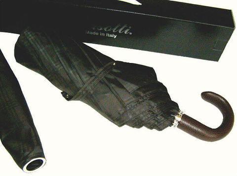 Зонт складной Pasotti 6434-15 Incrocio Handle Leather