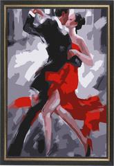 Танец страсти - картина со стразами алмазная