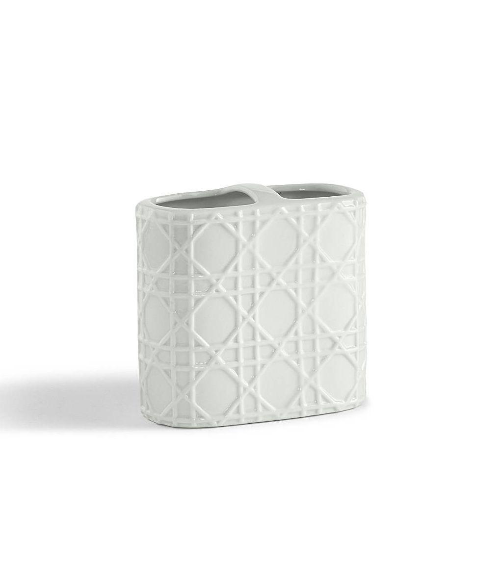 Стакан для зубных щёток Kassatex Rattan