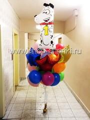 Букет шаров на день рождения