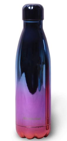 Термобутылка Kamille из нержавеющей стали 500 мл. градиент фиолетовый