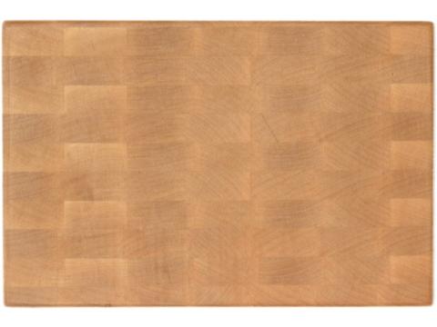 деревянная Торцевая разделочная доска 35x25x4 см. клен
