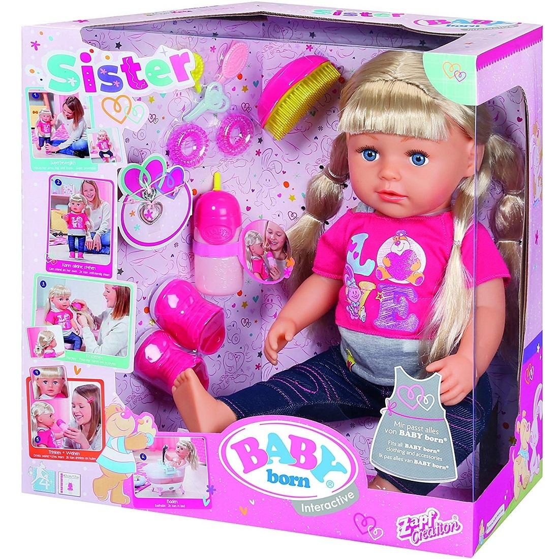 Беби Бон кукла Сестричка 43 см купить в интернет магазине