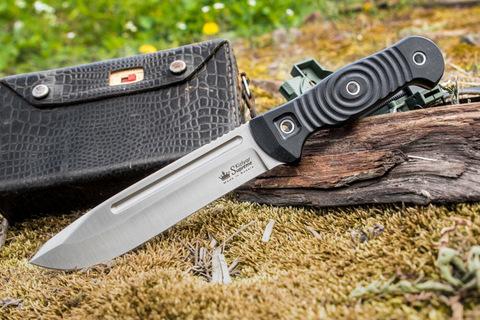 Туристический нож Maximus Sleipner StoneWash