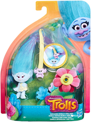 Trolls Satin Hair Raising With Baby