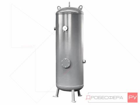 Ресивер для компрессора РВ 250/10 оцинкованный вертикальный
