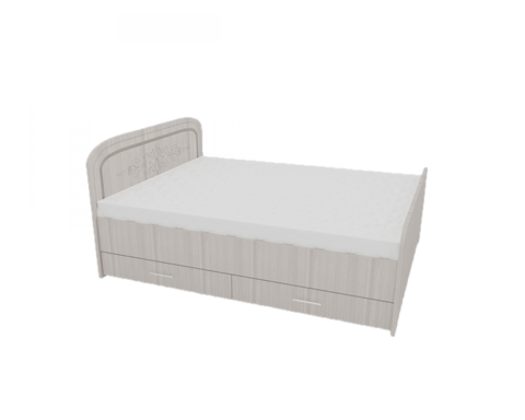 Кровать с ящиками 1,4 МДФ