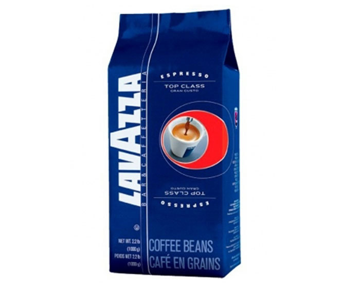 Кофе в зернах LavAzza Top Class, 1 кг (Лавацца)