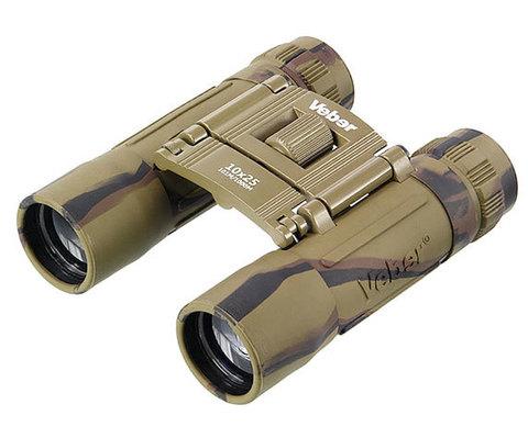 Бинокль Veber Sport БН 10x25 camo
