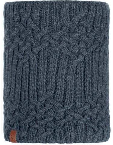 Шарф-труба вязаный с флисом Buff Neckwarmer Knitted Polar Helle Graphite