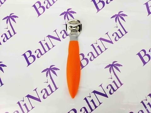 Скребок для педикюра пластиковая ручка, 140 мм