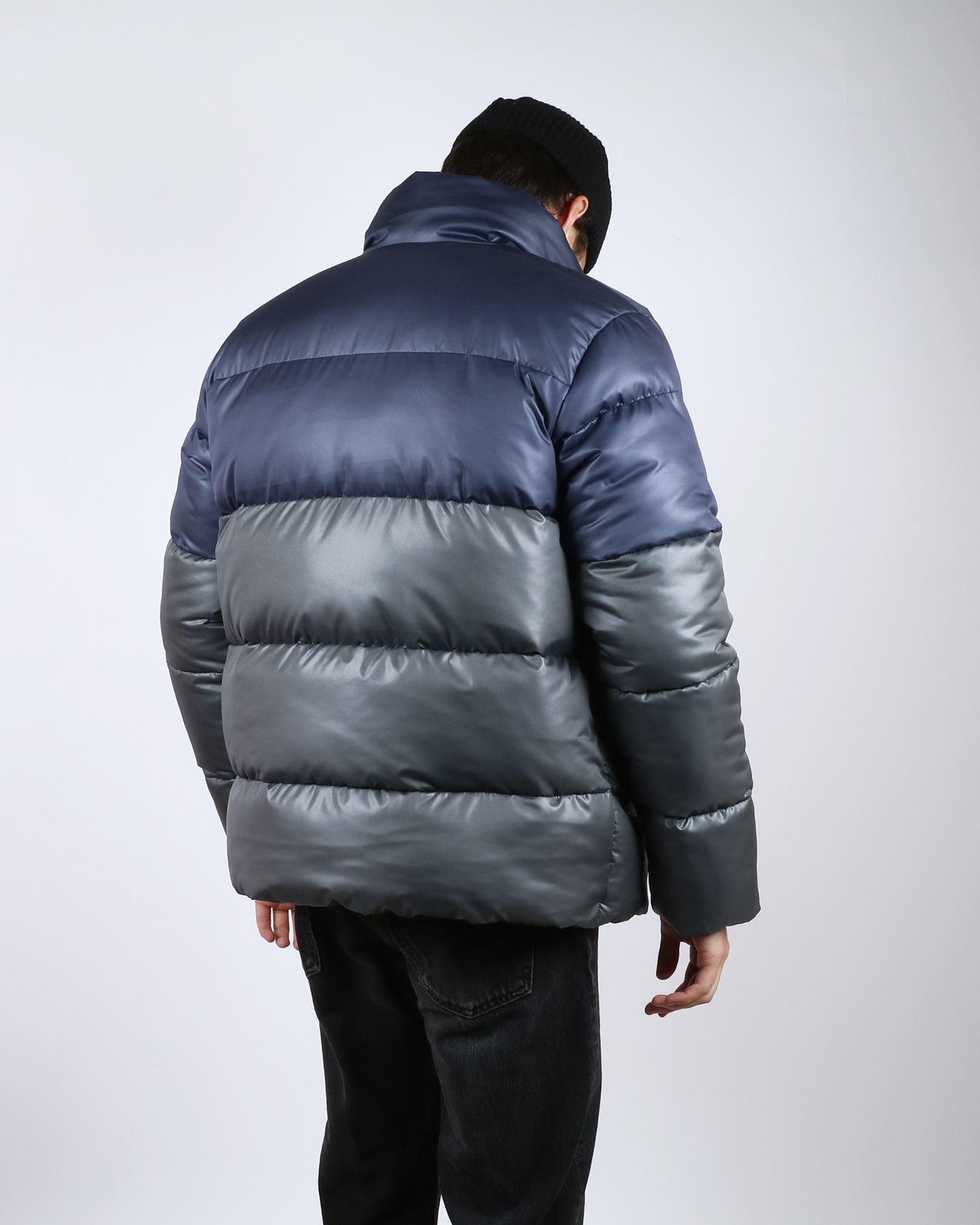 Куртка Anteater Downjacket Navy/Grey