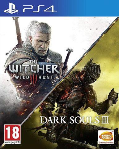 PS4 Ведьмак 3: Дикая Охота (английская версия) + Dark Souls III (русские субтитры)