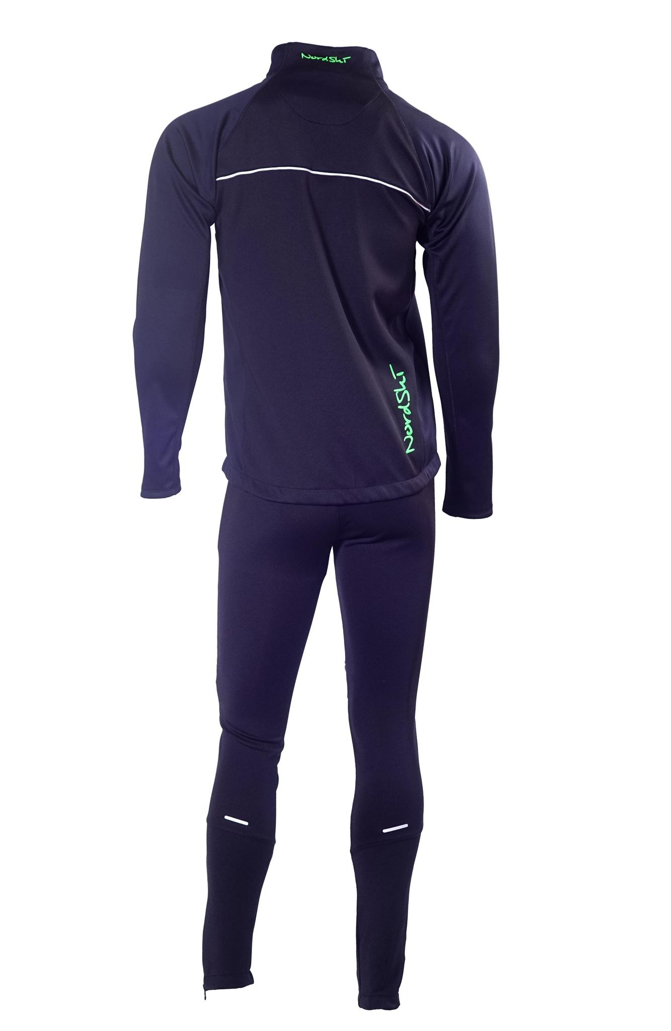 Мужской лыжный костюм Nordski Active (NSM301200) черный