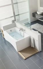 Ванна акриловая Cersanit Virgo 170*75