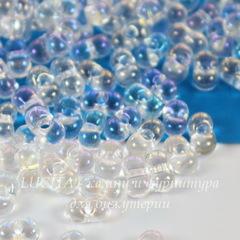 58205/ Бисер Preciosa Фарфаль (Farfalle) 6,5х3,2 мм прозрачный радужный