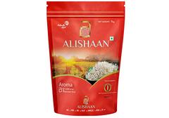 Непропаренный индийский рис басмати AROMA, 1кг