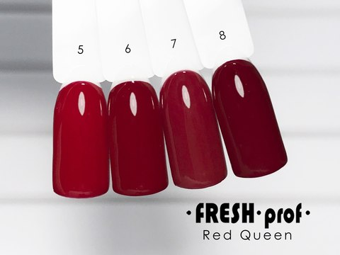 Гель лак Fresh Prof Red Queen 10мл R05